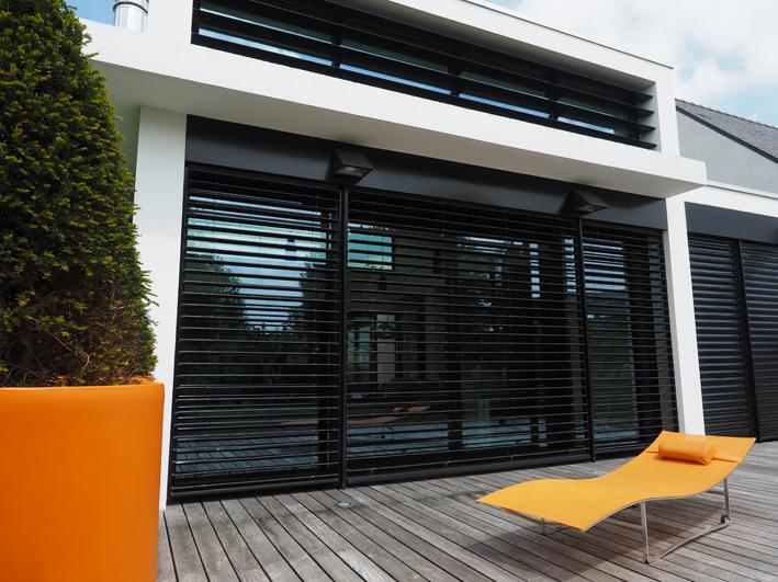 brise soleil orientable rennes bretagne. Black Bedroom Furniture Sets. Home Design Ideas